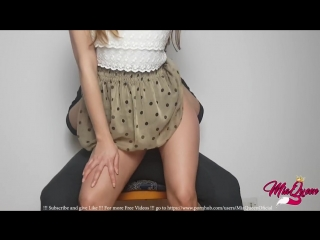 Mia queen - how make him cum in less 2 minutes inside my tight pussy (amateur/homemade/latina/creampie/big ass/порно/домашнее)