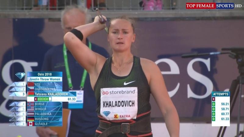 2018-06-07 - Javelin Throw - IAAF Diamond League - Oslo