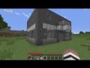 Преступник попал в черно-белый дом в Майнкрафт! Нуб против троллинг minecraft