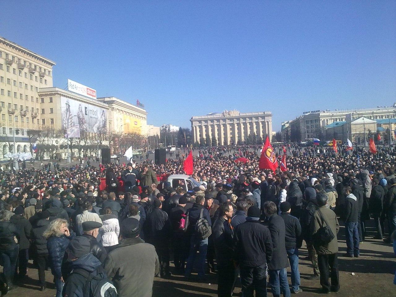 харьков 8 марта 2014