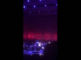 """Orchestral version of """"kill this love"""" in lincoln center in new york"""