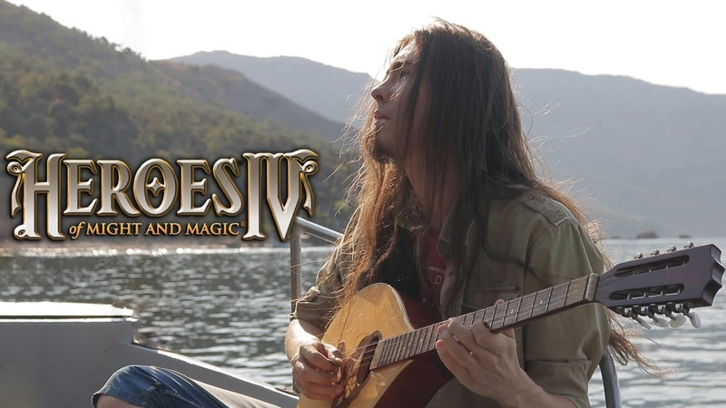 Heroes of Might and Magic IV Floating Across Water Sea Theme Cover by Dryante
