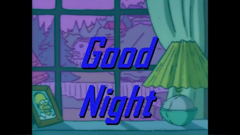 KAONASHI.mp3 - Good night(S I M P S O N S W A V E Lo-Fi)