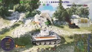 World of Tanks PS4 Tiger I Hammer когда умелый квадратик за спиной