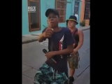 Colombian Kids - Freestyle Rap On The Streets ( thc_music )