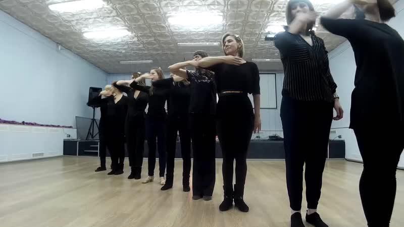 Ladies style WCS от Юли Андрияшкиной