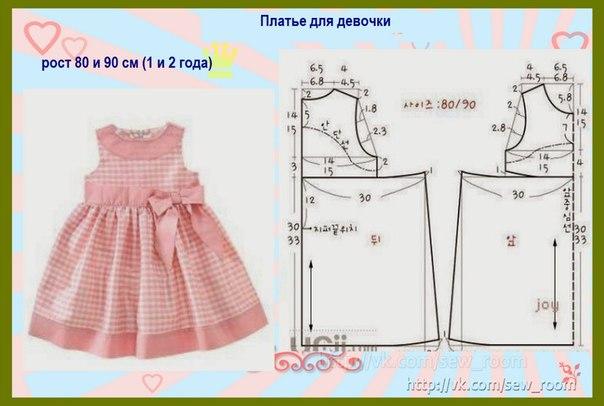 Технология детского платья