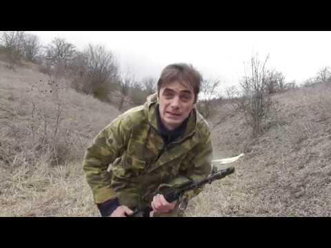 Ковбойская Стрельба с Сайги 5 45 Автомата Калашникова