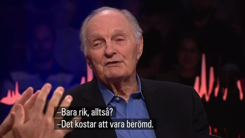 Alan Alda Får Skavlan Att Kasta Intervjublocket.(Skavlan 21.09.2018.)