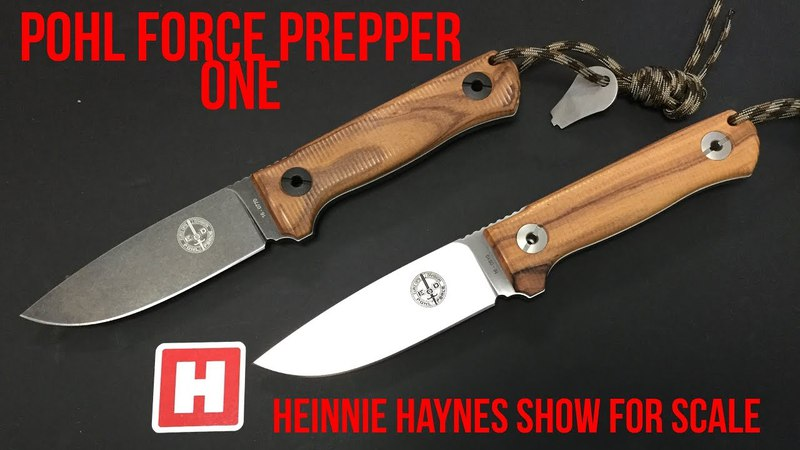Pohl Force Prepper One - Heinnie Haynes Show for Scale