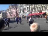 Роллер пробег по центру СПб 17 мая