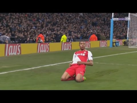 Kylian Mbappé - Monaco 3x1 Man City UCL (2016-17)