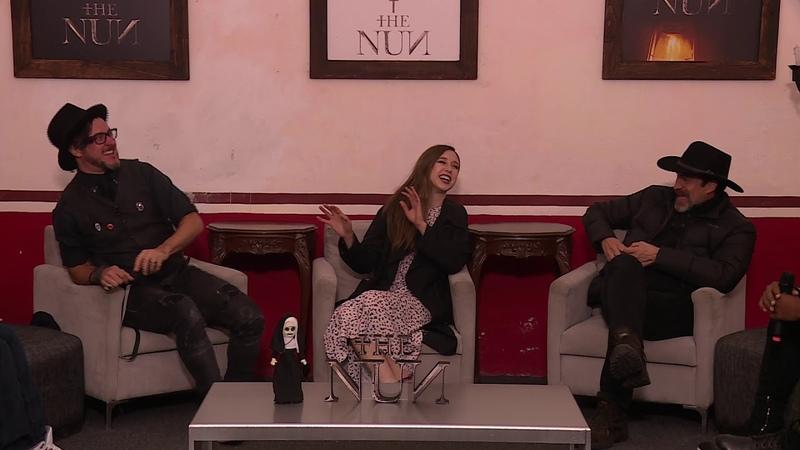The Nun Press Junket Roundtable Interview