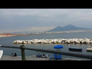 Неаполь, залив, Везувий