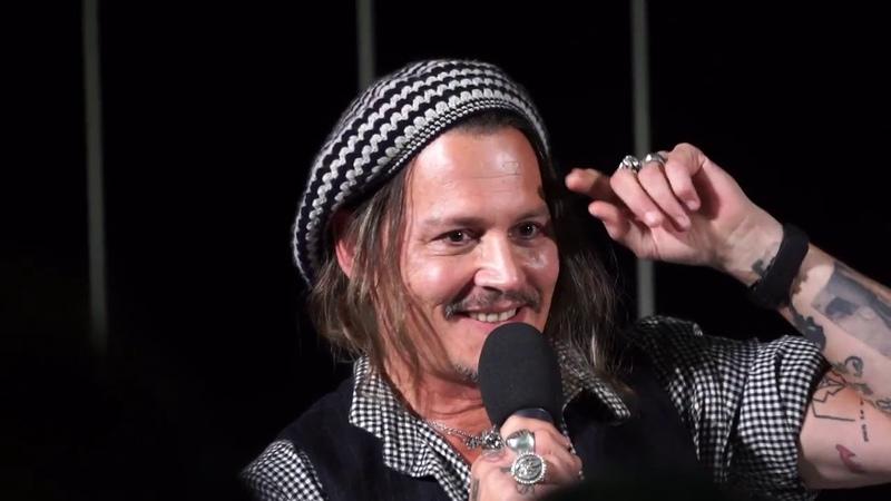 Johnny Depp Zurich Full Interview 2018 (Jack Sparrow, Edward Scissorhands Tim Burton)
