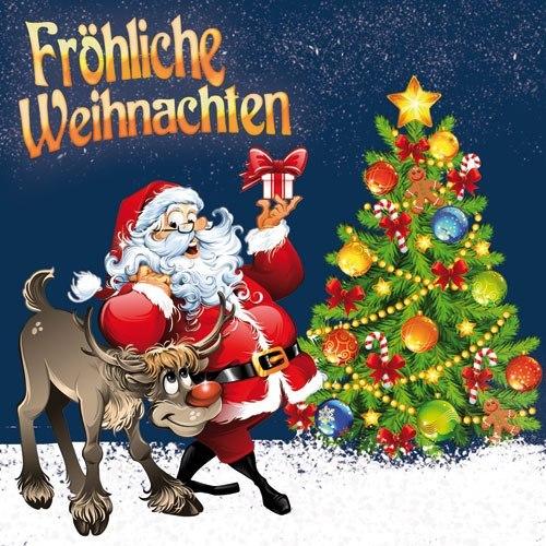 Поздравления по немецки с рождеством