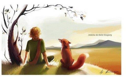 — Лучше приходи всегда в один и тот же час, — попросил Лис.