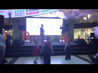 #LAR feat ANA Girls #Пулково # Питерлэнд #Фестиваль молодых семей