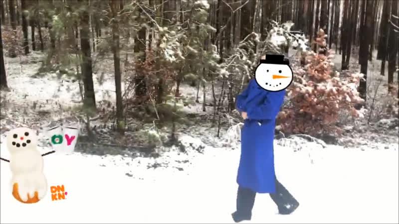 Польский снеговняк эксгибиционист 😁😂😈