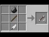 Как сделать лук и стрелы в minecraft.