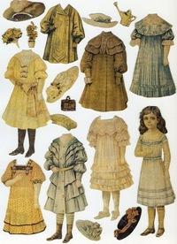 Паперові ляльки Бумажные куклы  Paper Dolls  e95060cbe0fa3