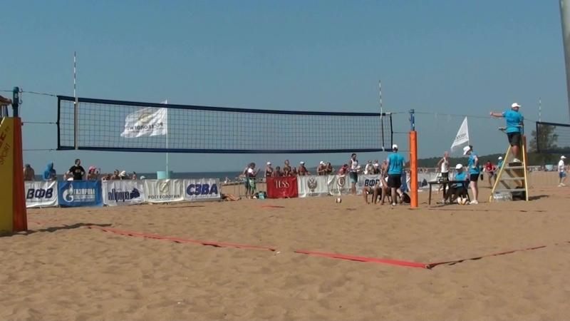 Beach volley Russia Solnechnoe 2018 M 04 Kuzimn- and Samoday-Myskiv