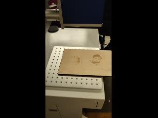 CO2 лазерный маркер для неметаллические материалы