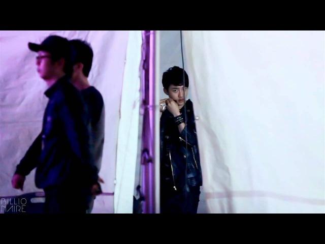 EXO D.O. / 구리 유채꽃축제 백스테이지 편집캠 - 20120506