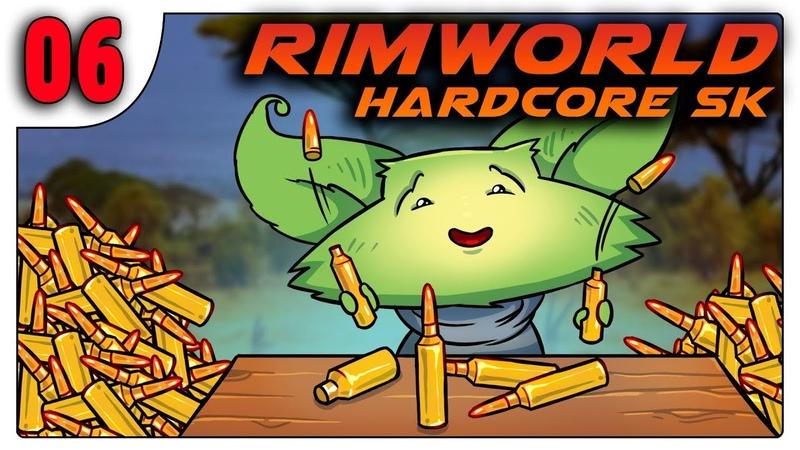 Производство патронов и расширение базы 06 RimWorld HSK b18