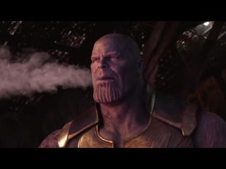 What did thanos do, after infinity war smoke weed everyday