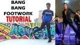 Hrithik Roshan BANG BANG Footwork Tutorial Nishant Nair