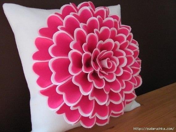 схемы декоративные подушки