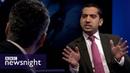 Maajid Nawaz Mehdi Hassan and Mo Ansar lock horns on BBC Newsnight