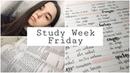Study Week Неделя Учёбы Пятница Study With Me Motivation Learn Languages With Me