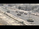 Бои в Аль-Кабуне, Сирия ( съемки Анна-ньюс )