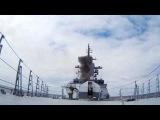 Стрельбы корабельным ЗРК Редут.