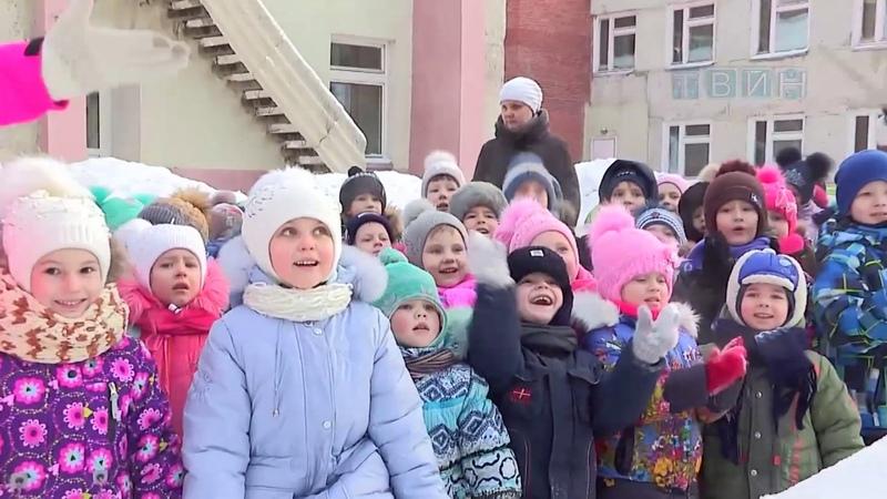 В 28 д с открыли снежный городок посвященный Универсиаде 2019