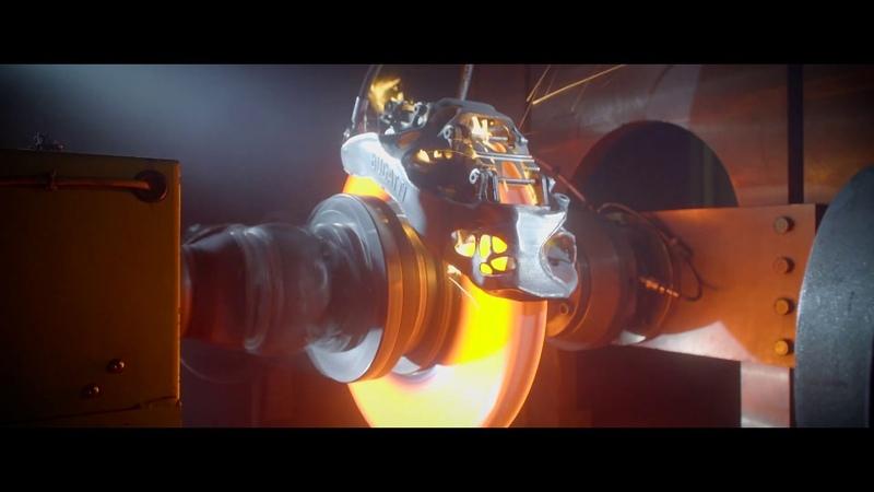 Тестирование первого в мире 3D печатного тормозного суппорта