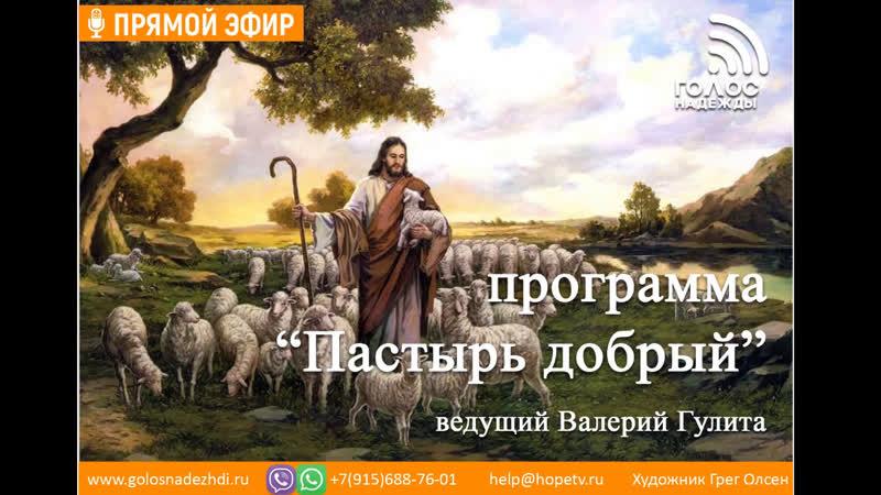 Трудный Бог Библии | программа Пастырь добрый
