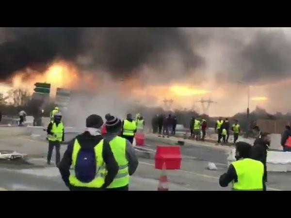 LES IMAGES QUE VOUS NE VERREZ PAS À LA TV ! Les gilets jaunes du 17 Novembre dans toute la France