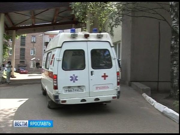 В Ярославле упал башенный кран два человека с тяжелыми травмами доставлены в больницу