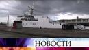 Во Владивостоке подняли флаг на новом сторожевом корабле проекта «Охотник».