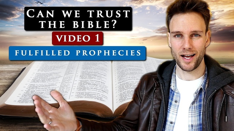 How do we know we can TRUST THE BIBLE Video 1 PROPHECIES