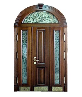 двухстворчатая тамбурная дверь металлическая входная 1300