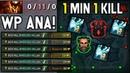 Ana Kunkka OWNAGE 1 MIN 1 KILL Dota 2
