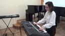 Шерефе Бакиева. Бетховен. Соната op. 27 № 2 ( Лунная ) I часть