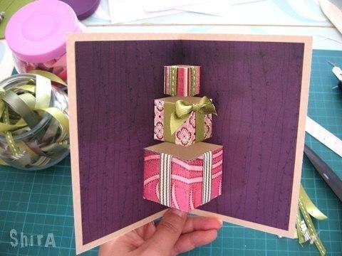 Как сделать открытку на день рождения леле