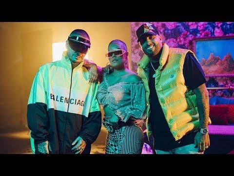 "Karol G ft Nicky Jam J Balvin - ""Mi Cama Remix"" (Music Video)   Muxicton"