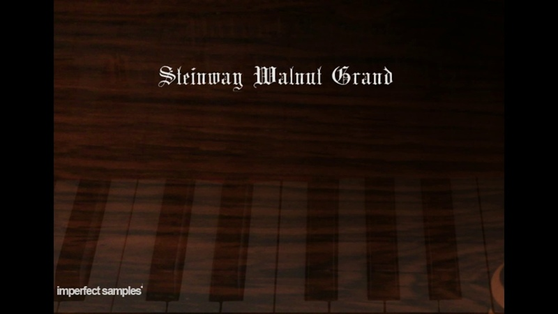 Imperfect Samples STEINWAY WALNUT GRAND PIANO PRO - Halloween Theme
