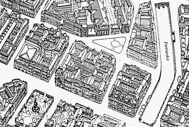 План-схема Невского проспекта